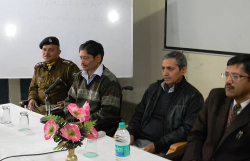 workshop for police personnel