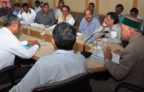review meeting of Cooperative Department and Cooperative Institution