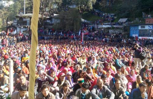 CPM shimla rally